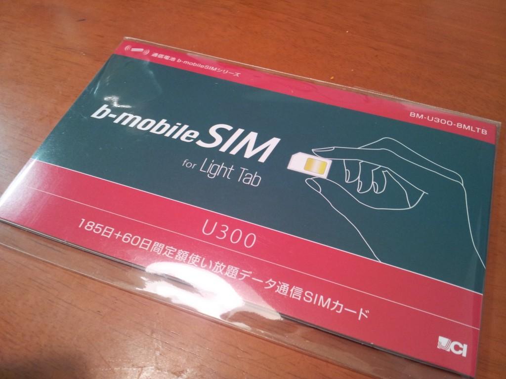 b-mobile u300 何かの添付品ぽい