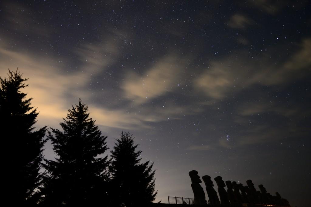 滝野霊園の星景写真