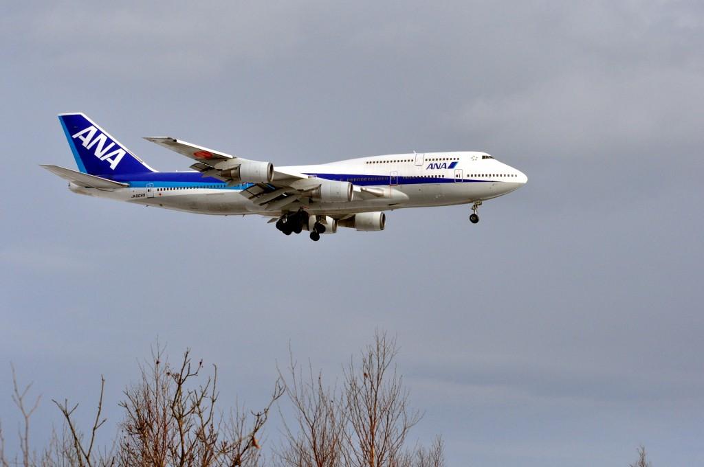 747着陸