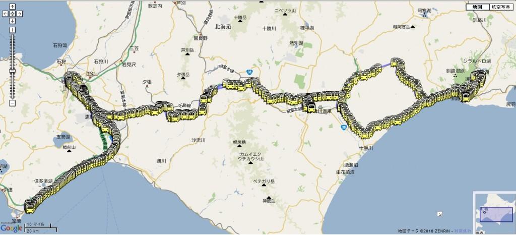 澤田北海道ツーリストの軌跡
