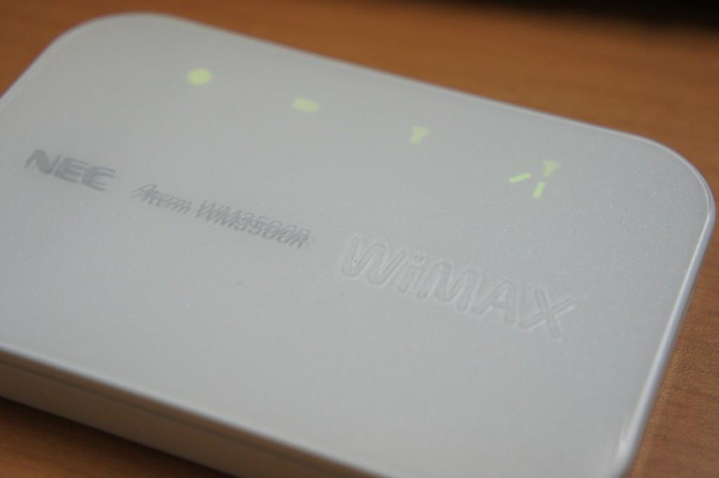 WiMAX NEC WM3500R
