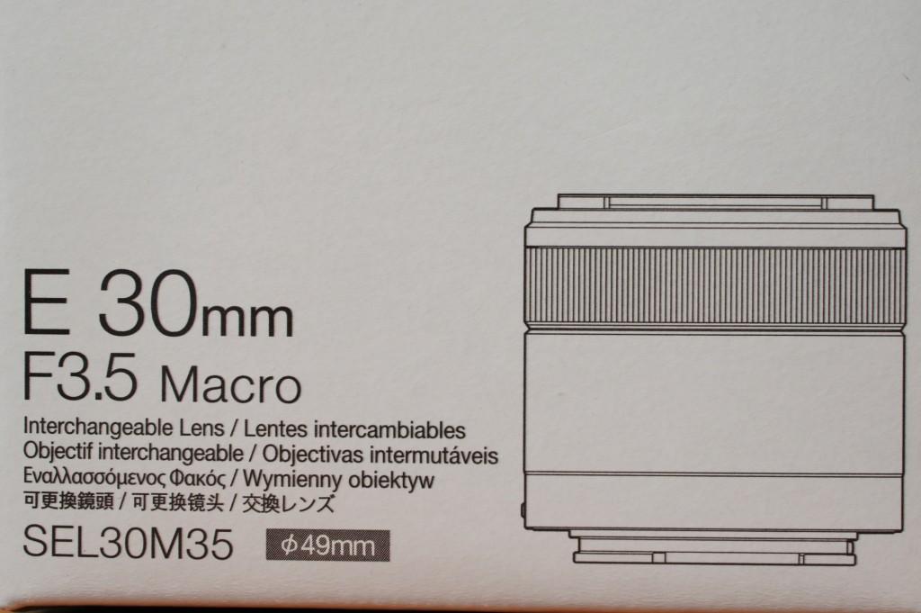 SEL30M35 ソニーEマウント35mm/F3.5 マクロ