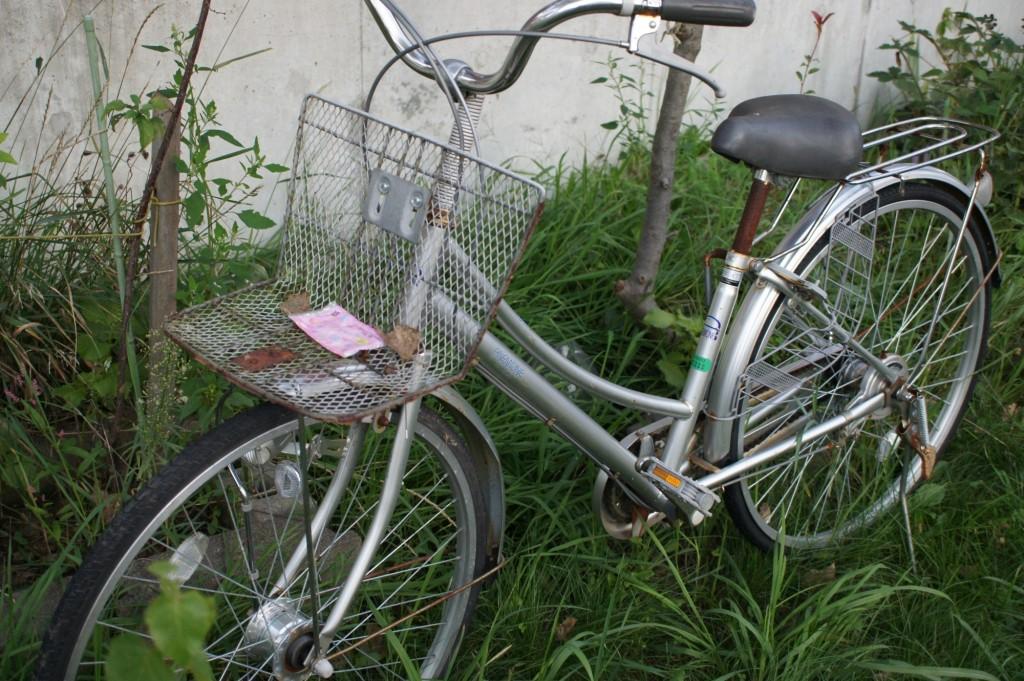 放置自転車か否か微妙なライン 1/320 f3.5 ISO800
